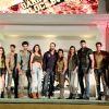 Rohit Shetty with all the contestants at the Launch of Khatron Ke Khiladi Darr ka Blockbuster