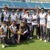 The Mumbai Heroes team at the CCL Dubai match