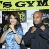 Madhuri Dixit promotes 'Gulaabi Gang' at Gold's Gym