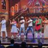 The cast of Comedy Nights With Kapil performs with Terence and Remo