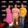 Jacqueline Fernandes, Salman Khan and Omar Qureshi at zoOm Studio