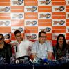 Honey Singh, Akshay Kumar and Ramesh Taurani at the Launch of World Kabaddi League