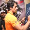 Sonu Sood signs his autograph at KWC Luxurio