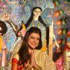 Sushmita Sen at Durga Pooja