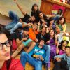Hrithik Roshan : The inmates of Bigg Boss 8 get a selfie clicked with Hrithik
