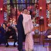 Deepika Padukone gives Boman Irani a hug on Comedy Nights with Kapil