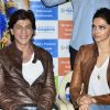 Shahrukh Khan and Deepika Padukone at the Happy New Year Event