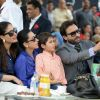 Saif Ali Khan clicks a selfie with his family at Bhopal Pataudi Polo Cup 2014