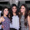 Muskan Arora, Sana Khan and Krystle D'souza snapped at Team Mumbai Warrior's Surprise Bash