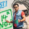 Ali Zafar poses for the media at Kill Dil Graffiti Event