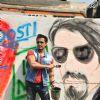 Ali Zafar was at Kill Dil Graffiti Event