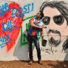Ali Zafar was snapped at Kill Dil Graffiti Event