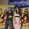 Saif Ali Khan shakes a leg with Ileana D'Cruz at the Promotions of Happy Ending at Mithibai College