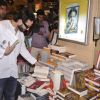 Saif Ali Khan checks out various books at Crossword during the Promotions of Happy Ending