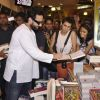 Saif Ali Khan signs autograph for his fans at the Promotions of Happy Ending