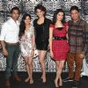 Celebs pose for the media at Divya Khosla's Birthday Bash