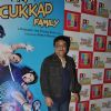 Swanand Kirkire poses for the media at the Promotions of Crazy Cukkad Family