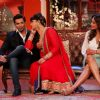 Bua flirts with Karan Singh Grover at the Promotions of Alone on Comedy Nights with Kapil