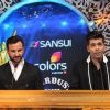 Saif Ali Khan and Karan Johar were snapped hosting at Stardust Awards 2014