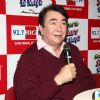 Randhir Kapoor interacts with the media at his Birthday Celebrations at 92.7 BIG FM