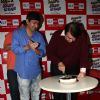 Randhir Kapoor was snapped cutting cake at his Birthday Celebrations at 92.7 BIG FM