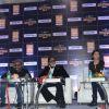 The team of Shamitabh at the Mumbai International Motor Show 2015