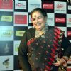 Usha Uthup poses for the media at Royal Stag Mirchi Music Awards Bangla 2014