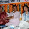 Shabana Azmi with Priya Dutta at a Political Event