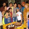 Team poses for the media at Rohan Mehra's Birthday Bash