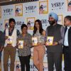 Shoojit Sircar, Irrfan Khan and Deepika Padukone at Amul Book Launch