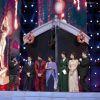 DDD Cast with Vikas Bahl, Manish Paul and Karan Johar at AIBA Awards