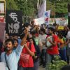Rajat KapoorParticipate in Protest for FTII Cause