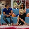 Salman Khan : Salman Khan at Comedy Nights with Kapil for Promotions With Host Roshni Chopra