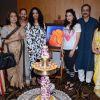 Ameesha Patel, Amruta Fadnavis, Reema Lagoo and Sachin Khedekar Snapped at an Art Exhibition