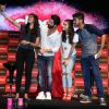 Shahid Kapoor and Alia Bhatt take a selfie with fans at the Close Up First Move Party