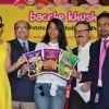 Yuvika Chaudhary, Mugdha Godse and Parikshit Sahni at Harley Food Products Launch