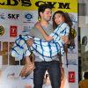 Sooraj Pancholi Lifts Athiya Shetty During Promotions of Hero at Gold's Gym