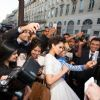Selfie With Kangana Ranaut at Premiere of Queen in Paris