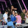 Udit Narayan, Farah Khan and Anu Malik at Indian Idol Special Episode