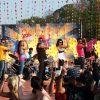 Fardeen Khan : Sanjay, Ajay, Fardeen, Bipasha and Mugdha doing stage perfomance