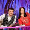 Anu Malik : A still image of Anu and Farah