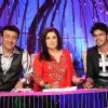 Farah Khan : Anu Malik and Farah Khan with Sreesanth