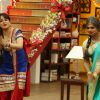 Upasana Singh : Upasana Singh and Siddharth Sagar in Comedy Classes