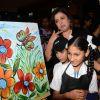 Farah Khan with Kids at an NGO Event