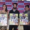 Shahid Kapoor and Alia Bhatt at Launch of Filmfare Magazine Cover