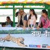 Aditi Rao Hydari : Aditi Rao Hydari Celebrates Birthday at Sunderbans