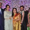 Sridevi and Boney Kapoor at Jaya Prada's Son's Wedding