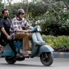 "Nawazuddin Siddiqui : Amitabh Bachchan and Nawazuddin Siddqui riding on scooter around Kolkata shooting for ""Te3n"""