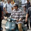"Sujoy Ghosh : Amitabh Bachchan during shoot of Sujoy Ghosh's ""Te3n"""
