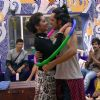 Digangana and Rishab Performs in Bigg Boss house During Promotions of 'Dilwale'